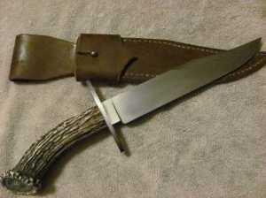 Frank Kramer Crown Stag Bowie Knife