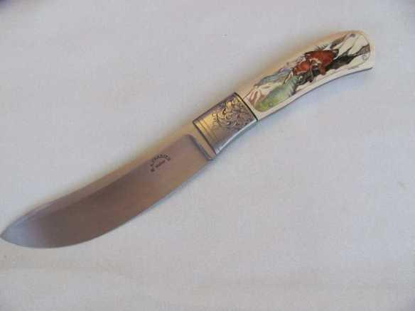 Ronald Frazier Green River Style Skinner Knife