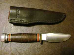 Fieldcraft with Stacked Leather Handle