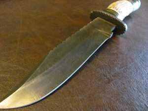 Damascus Knives 097
