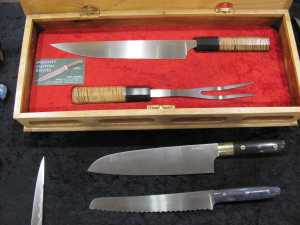 The Beautiful knives oif Mike Mooney