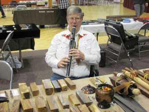 Beautiful Ironwood flute