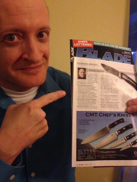 Todd Allan Knives in Blade Magazine