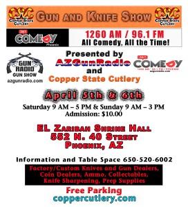 April Show Card