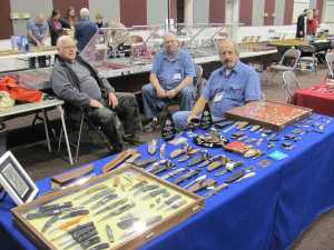 Knife Maker Jim Ort (Oz Knives), Knife Purveyor Lee Beene of Lee's Cutlery and Knife Maker Mike Tamboli