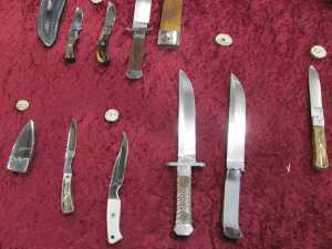 And more of Wayne's knives