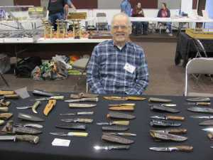 Dan Zvonek knife maker from New River, Arizona