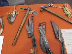 More of Ray's knives and tomahawks