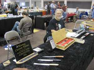 Our illustrious AKCA president and Queen Creek, Arizona knife maker Mike Mooney