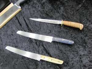Some of Mike's knives