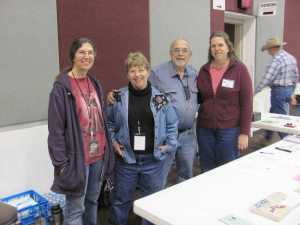 The volunteers at the AKCA Knife Show. We are most humbly greatful