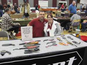 Tim Harbert of Ardent Knives, San Bernardino, California