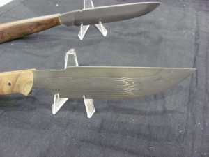 Frank teaches knife making at Mesa College. This is some of his work