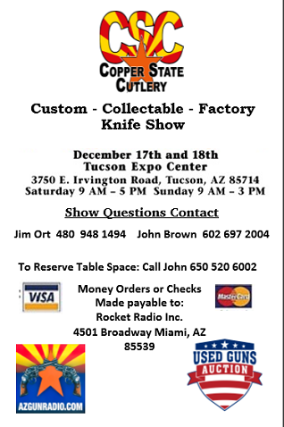 CSCA Knife Show