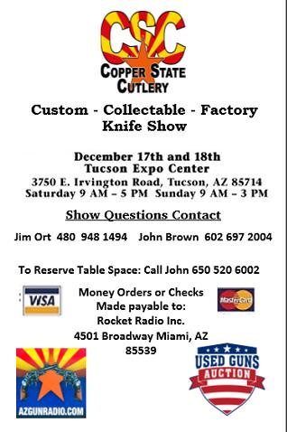 CSCA Knife Show